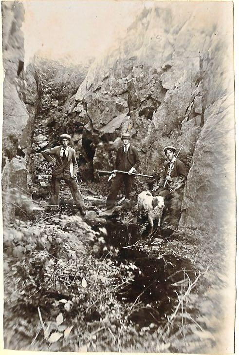 "Franklin Pierce ""lead"" mine (Sunapee Mountain graphite mine)"